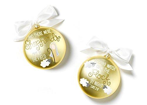 Coton Colors The Birth Of Christ Glass Ornament – Luke 2:8
