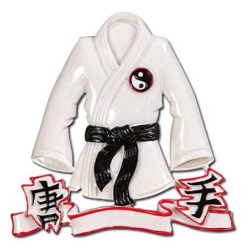 Polar X Karate Jacket Personalized Christmas Ornament