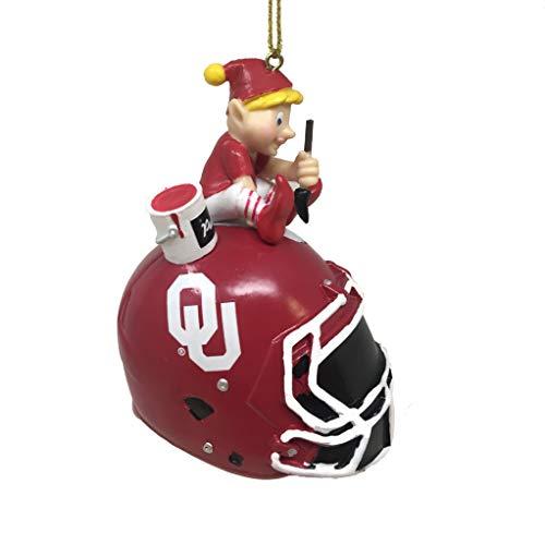 Spectrum Deluxe NFL/NCAA Team Elf Ornament (Oklahoma Sooners)