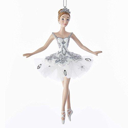Kurt Adler Snow Queen Ballerina Ornament