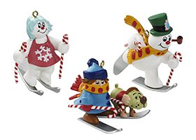 Carlton Heirloom Frosty The Snowman 3-Piece Christmas Ornament Set #3740407