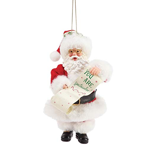 Department 56 Possible Dreams Spectacular Personalizable Hanging Ornament, 6 Inch, Multicolor