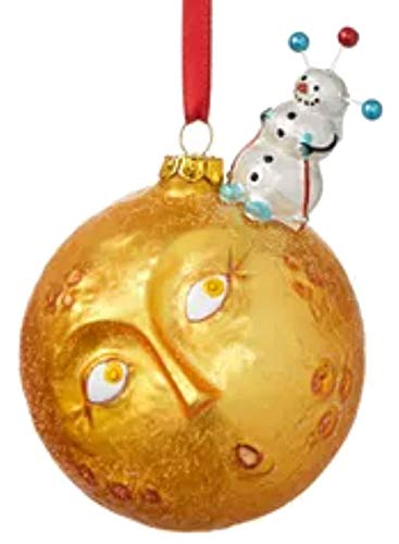 Holiday Lane Spaced Out Snowman on Sun Ornament