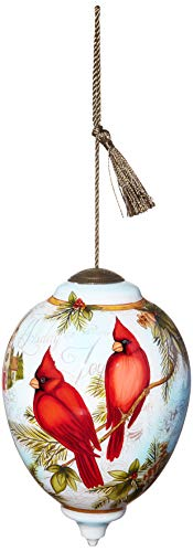 Ne'Qwa Limited Edition Princess Cardinal Winter Wonder Ornament, Multi
