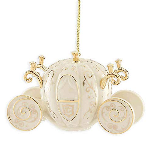 Lenox Disney Cinderella's Coach Christmas Ornament