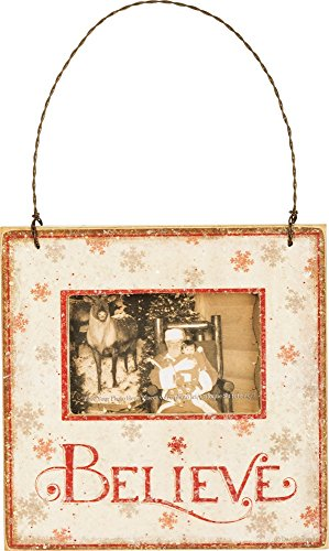Primitives by Kathy Rustic Christmas Mini Hanging Photo Frame
