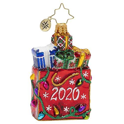 Christopher Radko Hand-Crafted European Glass Christmas Ornament, 2020 Goodie Bag Gem