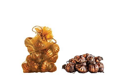 Creative Co-op Brown Glass Bag (Set of 36) Ornament