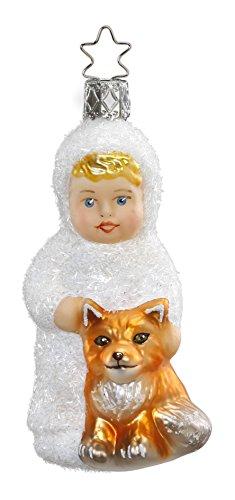 Inge-Glas Girl Kinder of Forest Friends 1-056-16 German Christmas Ornament
