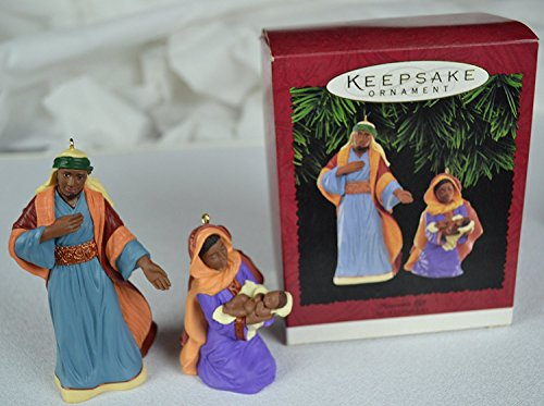Hallmark Keepsake Ornament Heaven's Gift Set of 2 Ornaments # QX6057