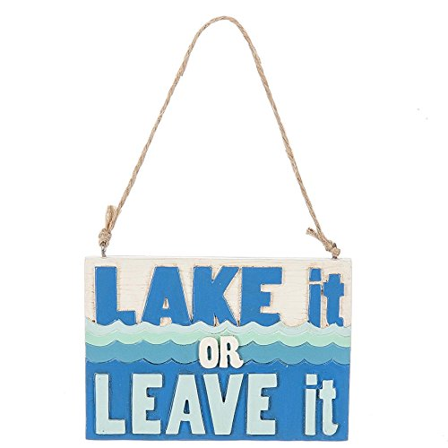 Just Be Claus Lake it or Leave it Christmas Ornament by Midwest-CBK
