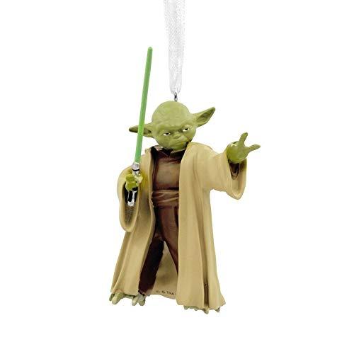 Star Wars 2019 Yoda Lightsaber Hallmark Ornament