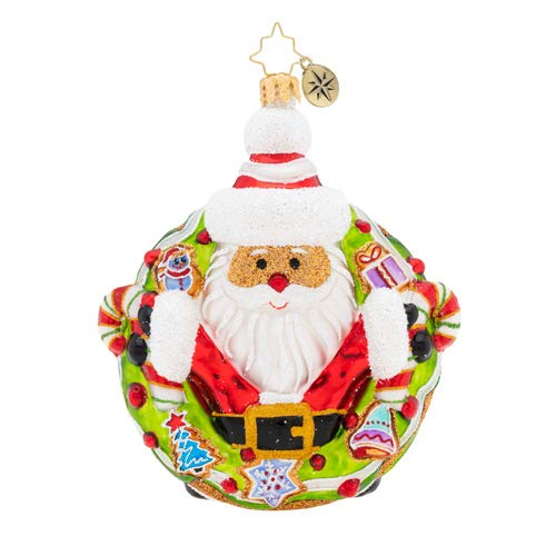 Christopher Radko Hand-Crafted European Glass Christmas Decorative Figural Ornament, Candy for All!