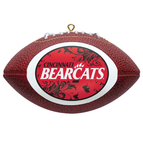 NCAA Cincinnati Bearcats Mini Replica Football Ornament