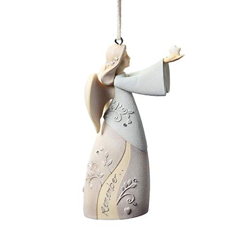 Foundations Stone Resin Hanging Ornament with S-Hook (Bereavement, 4026905)