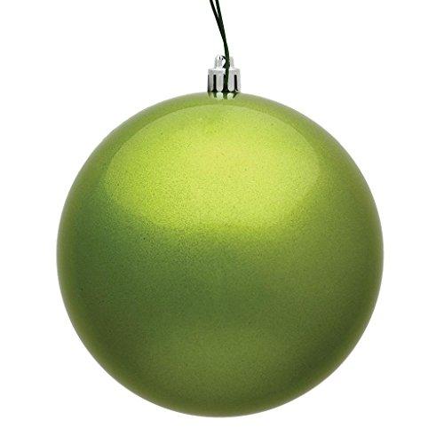 Vickerman 482445 – 3″ Lime Candy Ball Christmas Tree Ornament (12 pack) (N590873DCV)