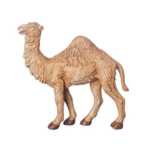 Fontanini, Nativity Figure, Baby Camel, 7.5″ Scale, Collection, Handmade in Italy, Designed and Manufactured in Tuscany, Polymer, Hand Painted, Italian, Detailed