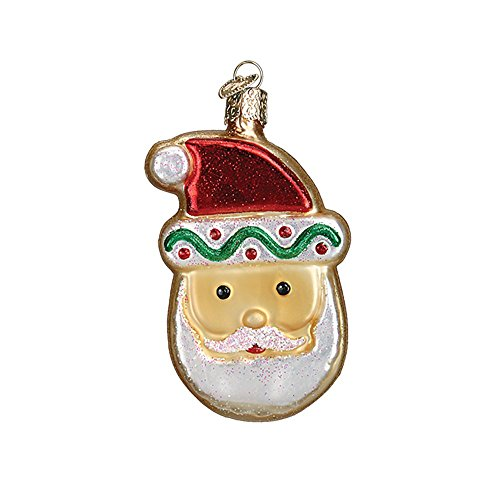 Old World Christmas Ornaments: Sugar Cookie Glass Blown Ornaments for Christmas Tree (32183)