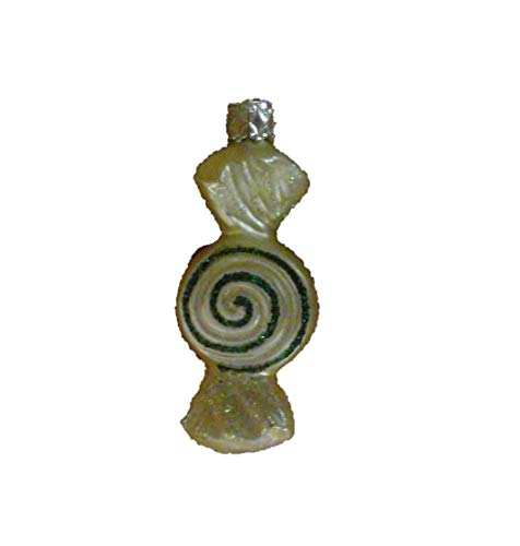 Peppermint Candy Twist by Inge Glas German Glass Ornament