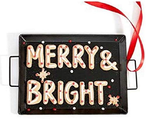 Holiday Lane Merry and Bright Ornament