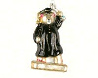 Cobane Studio LLC COBANEC367 Graduation Bear Ornament