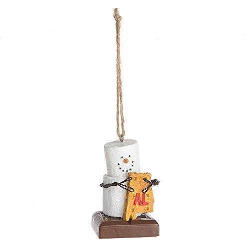 """Midwest CBK S'mores """"Alabama"""" Ornament"""