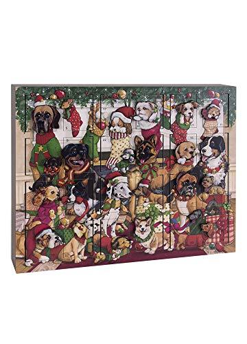 Byers' Choice Dogs Christmas Advent Calendar #AC22