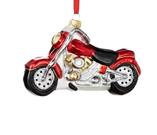 Holiday Lane World Traveler Motorcycle Ornament