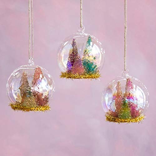 One Hundred 80 Degrees Sisal Tree Dome Ornament