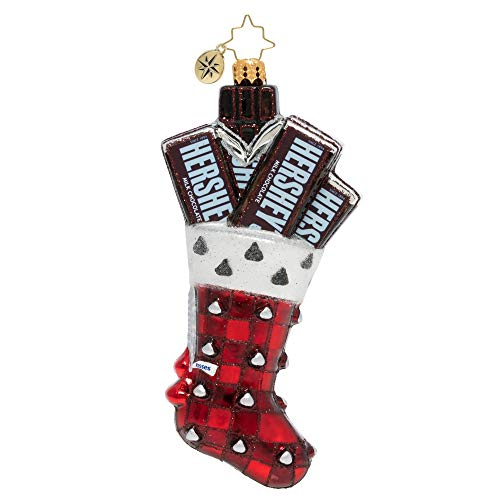 Christopher Radko Hershey Stocking