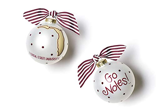 Coton Colors Florida State Glass Ornament – State