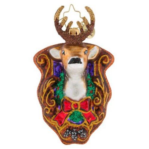 Christopher Radko Oh Deer Little Gem Christmas Ornament