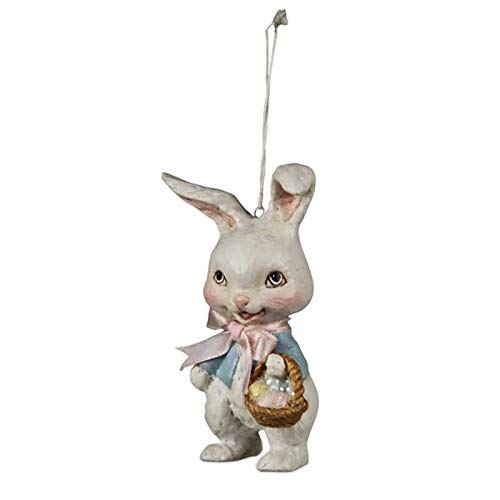 Bethany Lowe Retro Bunny Easter Ornament