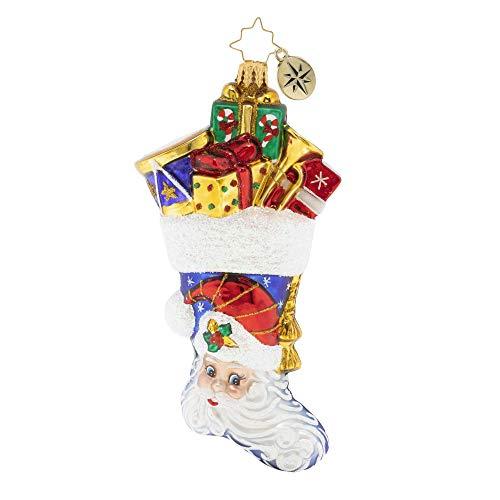 Christopher Radko Hand-Crafted European Glass Christmas Ornament, Presents A'Plenty