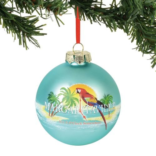 Department 56 Margaretville It's 5 O'clock Somewhere, 3.5″ Hanging Ornament, Multicolor