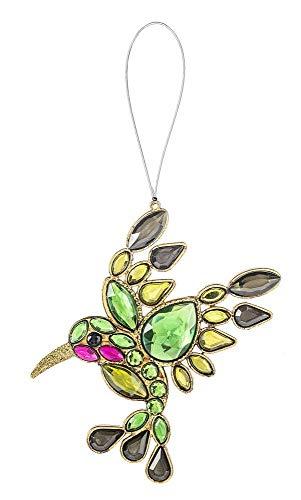 Ganz Crystal Expressions Acrylic Spring Summer Hummingbird Ornament 4″ ACRY-588 (Green)