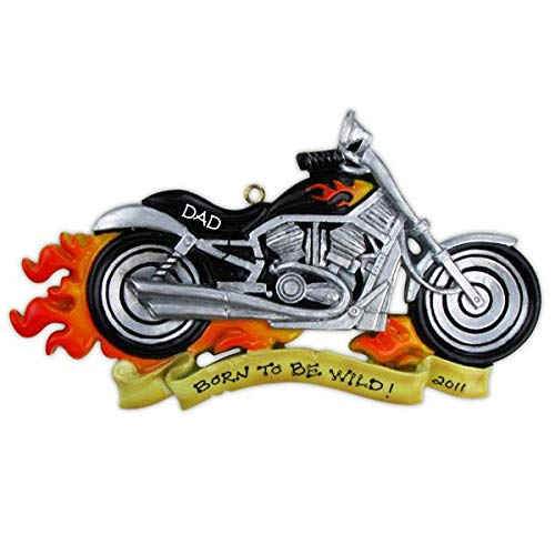 Polar X Harley Motorcycle Personalized Christmas Ornament