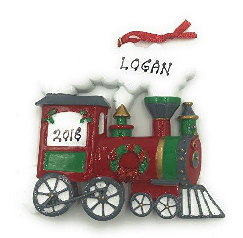 Personalized Train Christmas Ornament 2019