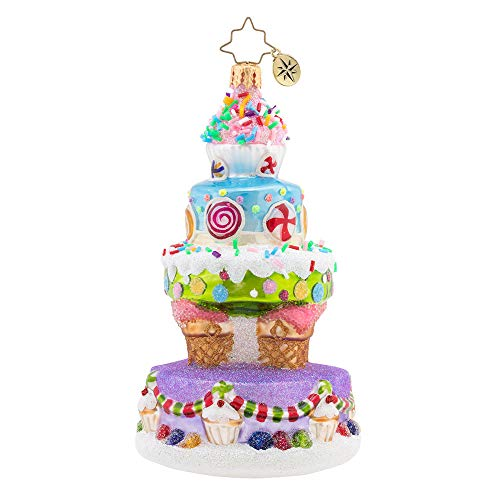 Christopher Radko Deliciously Delightful Cake Christmas Ornament