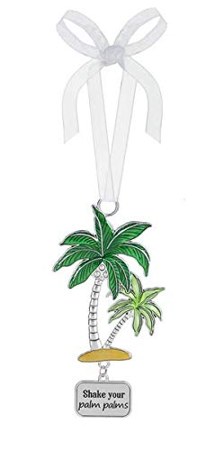 Ganz Ornament Palm Trees Shake Your Palm Palms Outdoor/Indoor – Decorative Ornament