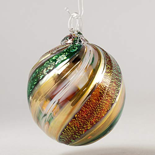 Glass Eye Studio 2020 Limited Edition Holiday Classic Boxed Ball Ornament