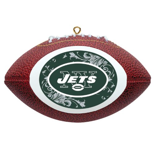 NFL New York Jets Mini Replica Football Ornament