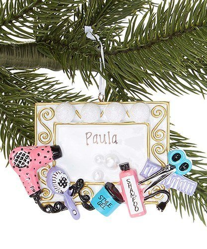 4147 HAIR STYLIST Chirstmas Ornament for Personaliztion