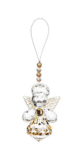 Ganz Crystal Expressions Angel Sentiment Collection 3 Inch Ornament (Guardian Angel)