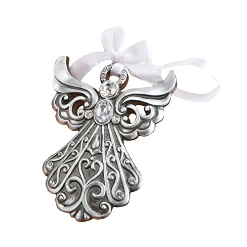 Fashioncraft Antique Finish Shimmering Angel Ornament – 1