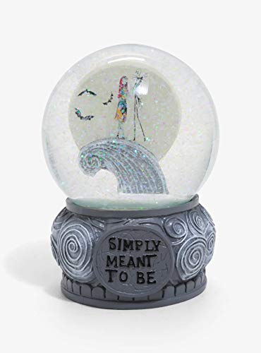 Tim Burton Jack and Sally Snowglobe Meant to be Exclusive
