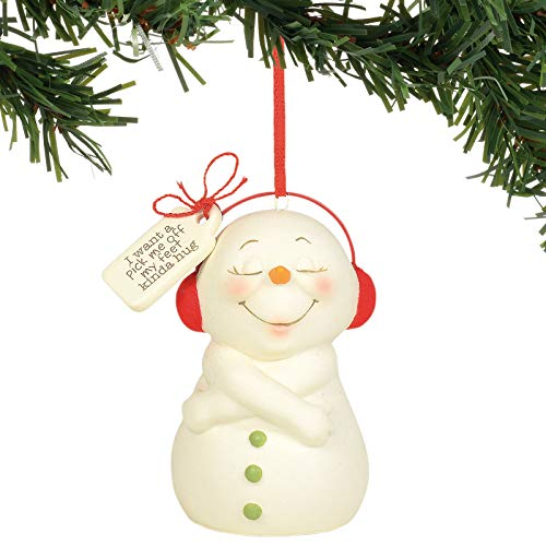 Department 56 Snowpinions Pick Me Off My Feet Hug Hanging Ornament, 3.125 Inch, Multicolor