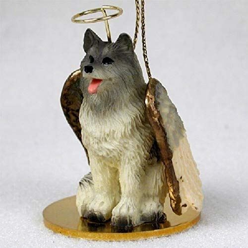 Conversation Concepts Keeshond Pet Angel Ornament