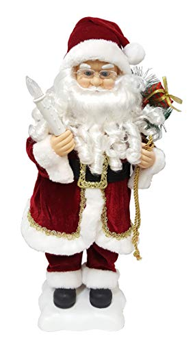 Ben & Jonah Workshop Collection 24″ Animated Santa Claus