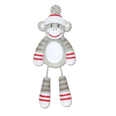 Polar X Stuffed Monkey with Dangling Legs Personalized Christmas Ornaments